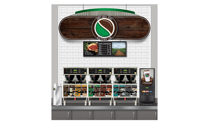 Arcadia Bay Select coffee program from Core-Mark