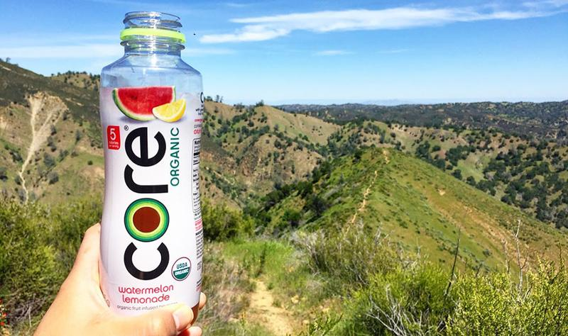 Core Organic fruit-infused beverage