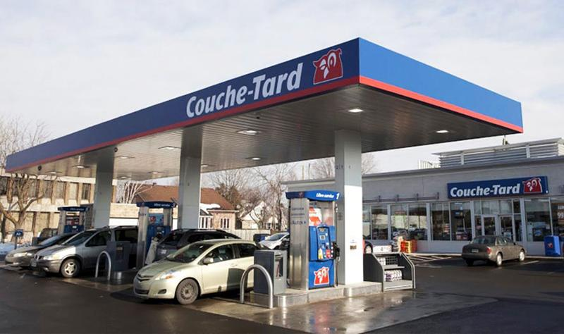 Couche-Tard gas station
