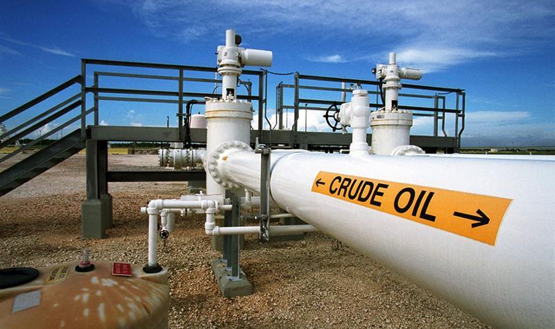 Crude oil pipeline