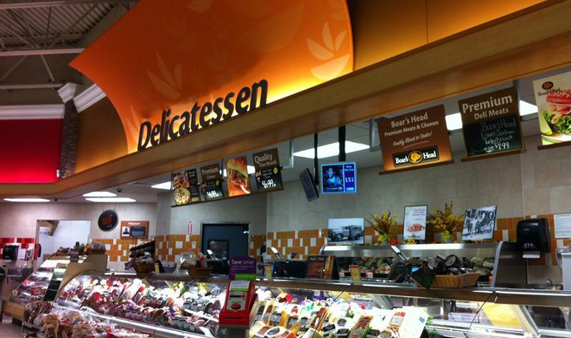 Could a deli counter work for you?