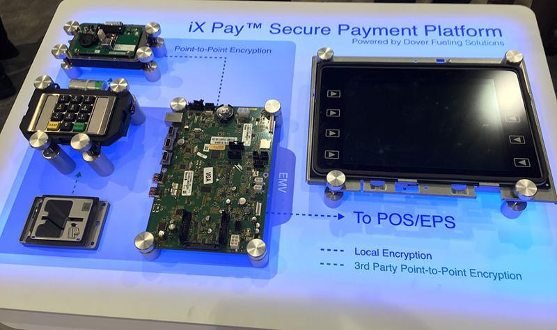 dover fueling services ix pay secure payment platform