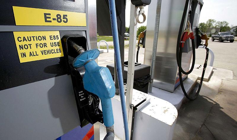 E85 gas pump