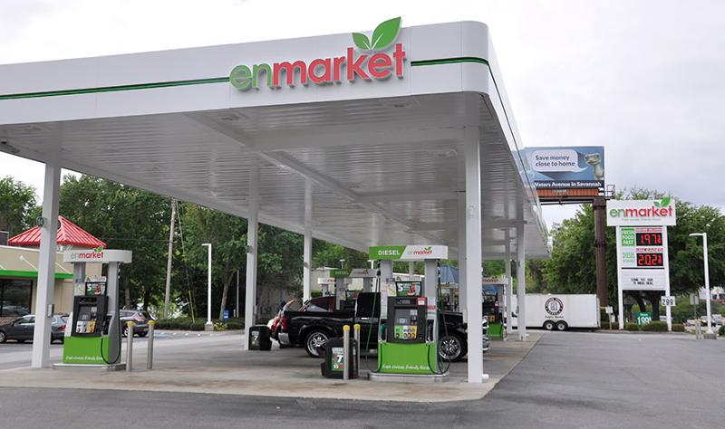 enmarket gas station