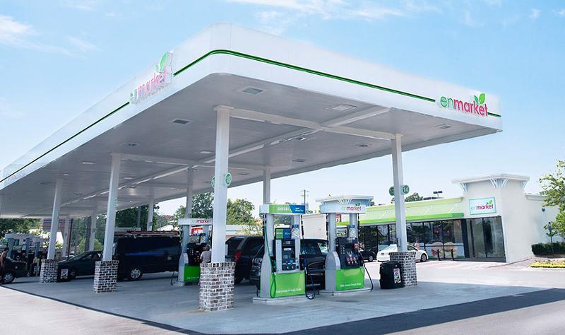 enmarket gas exterior