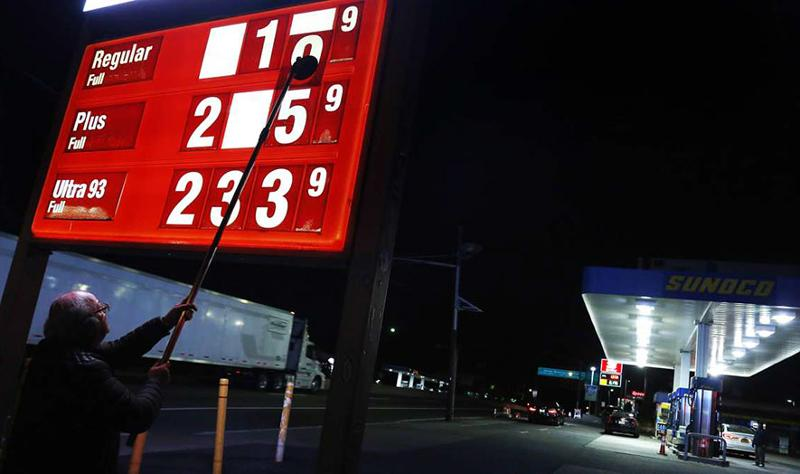 Changing gas prices