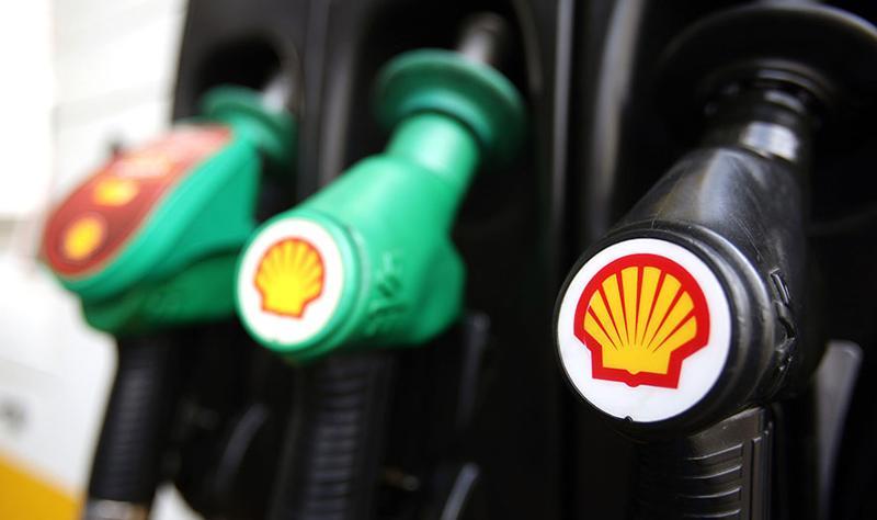 Shell gas pumps