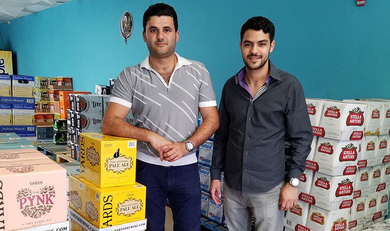 goPuff founders Rafael Ilishayev and Yakir Gola