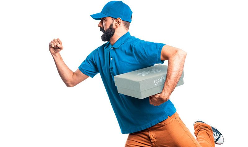 goPuff delivery man