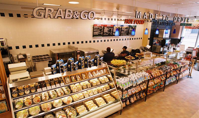 Grab and go counter