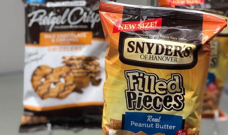 snyders pretzel snacks