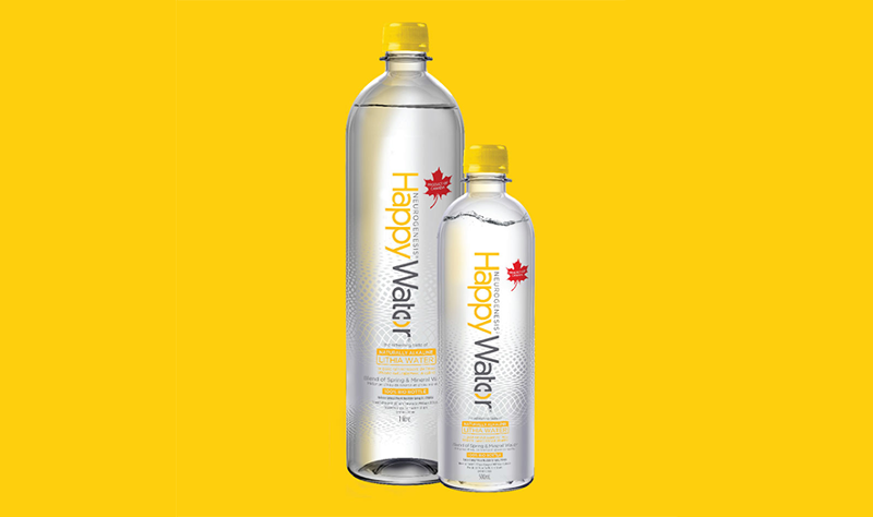 Leading Brand's Happy Water