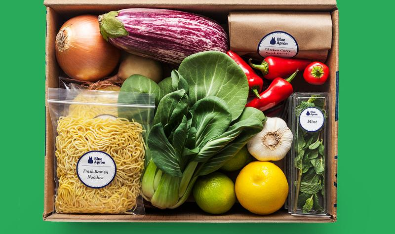 blue apron food package