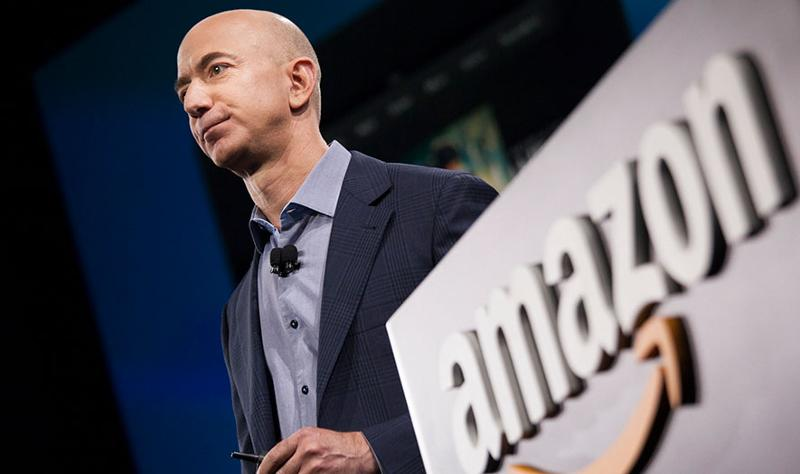 Jeff Bezos, Amazon CEO