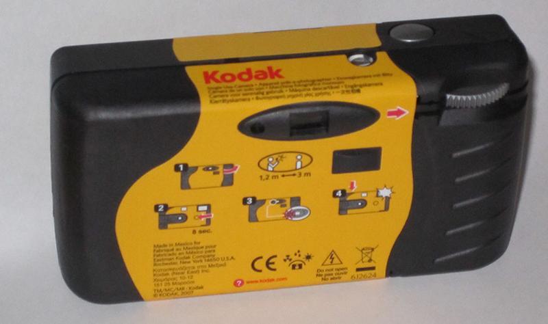 disposal kodak camera