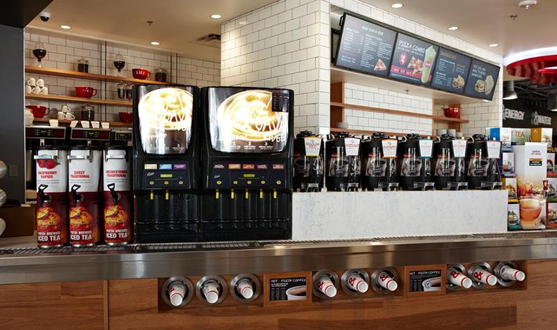 Kum & Go convenience store coffee