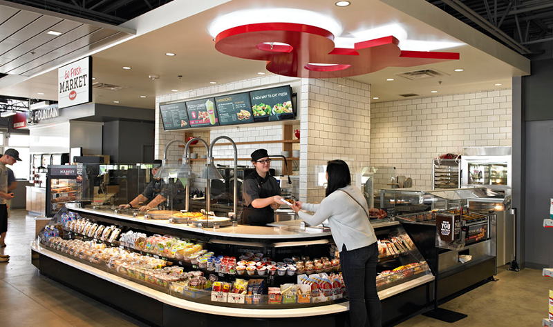 Kum & Go convenience store foodservice