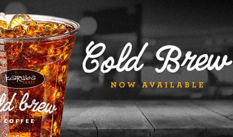 Kwik Trip cold brew coffee