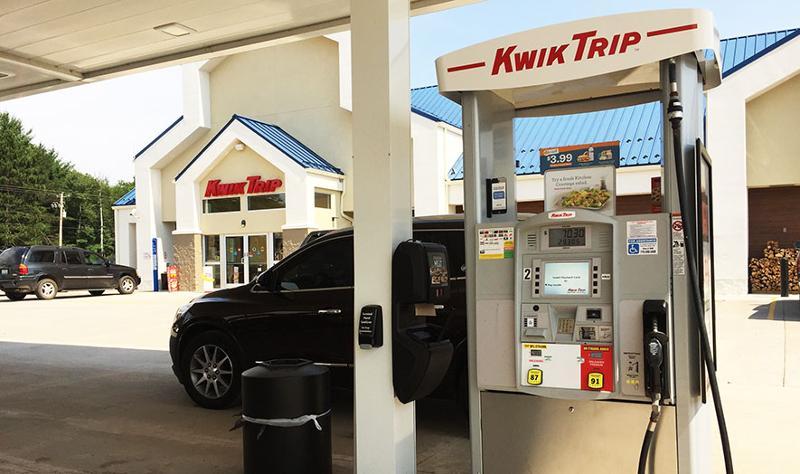 Kwik Trip gas pump