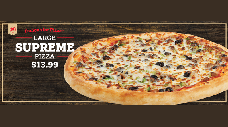 Casey's convenience store pizza deal