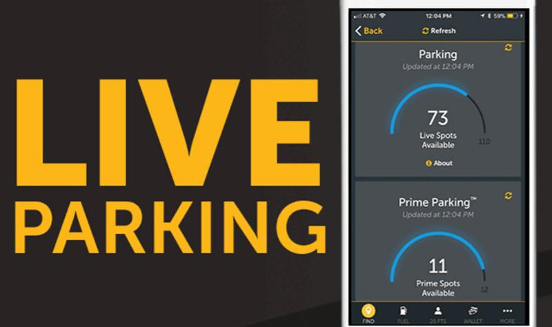 live parking