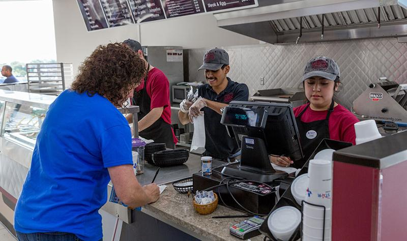 Lone Star Food Stores staff