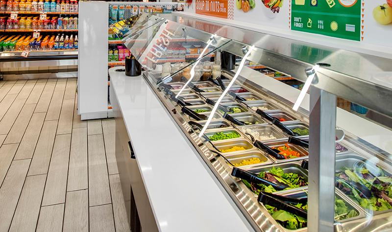 Loop convenience store salad bar