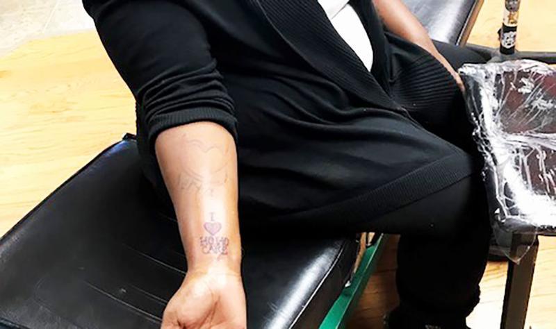 lou perrines tattoos