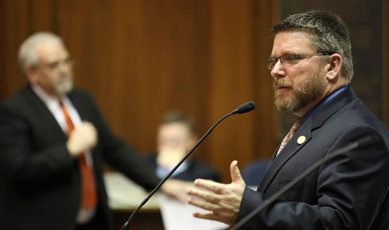 Indiana Rep. Kevin Mahan (R)