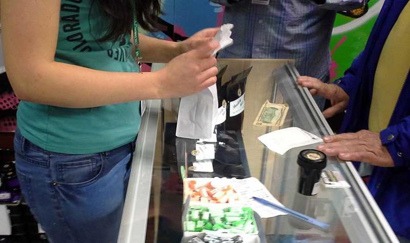 Legal sale of marijuana