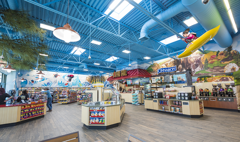Maverik convenience store interior