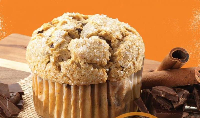 Maverik's pumpkin muffin