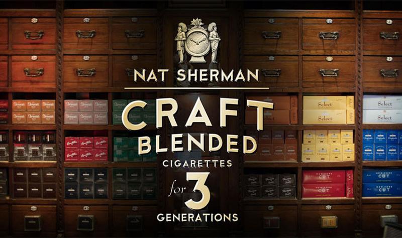 Nat Sherman Craft Blends