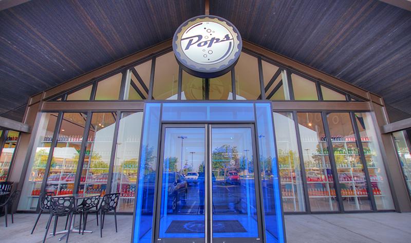 Pops 66 entrance