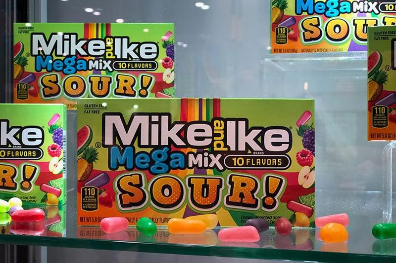 mike and ike mega mix sour!
