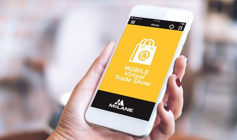 mobile virtual trade show mclane