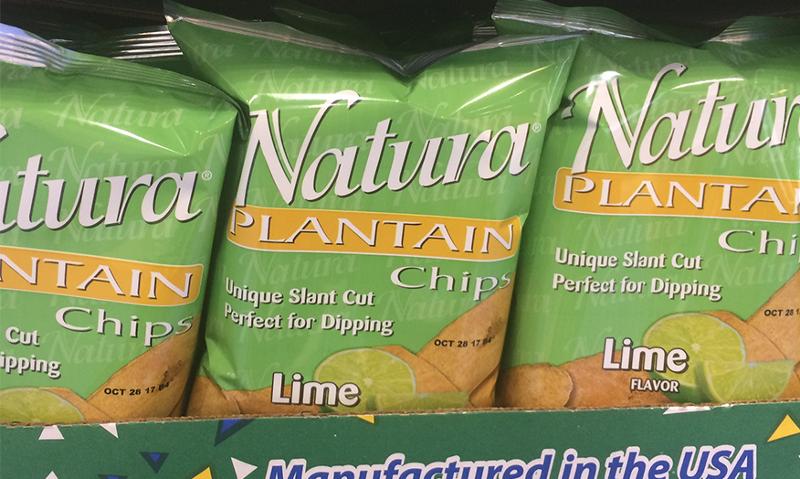 Natura Plantain chips
