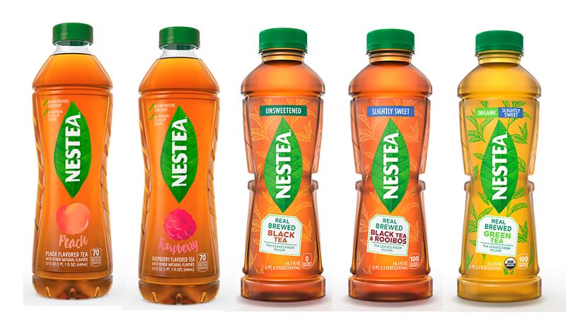 new Nestea bottles