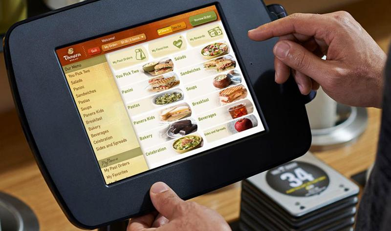 Panera ordering device