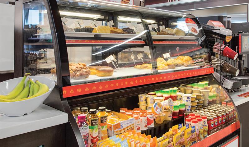 Loop neighborhood convenience store bakery