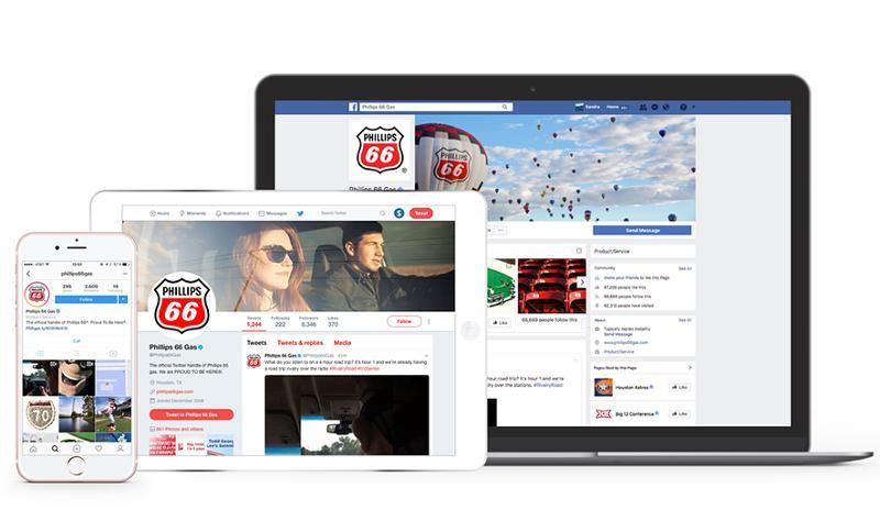 Phillips 66 social media