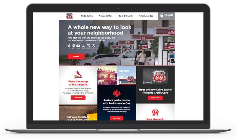 Phillips 66 website
