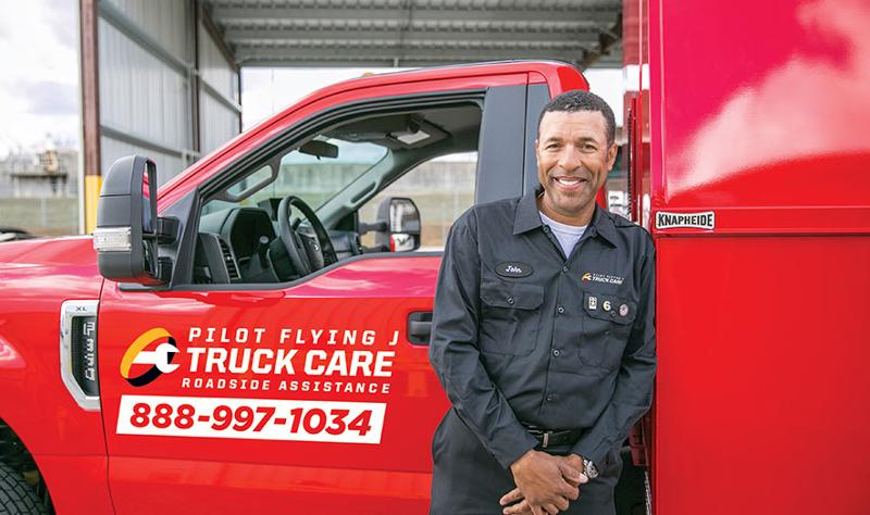 Pilot Flying J truck care