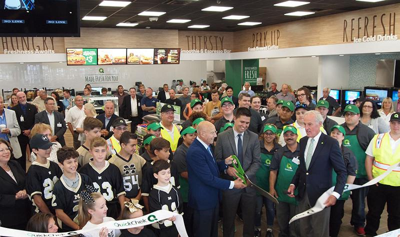QuickChek ribbon cutting