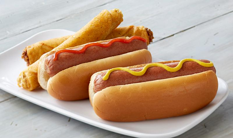 RaceTrac Limited-time offers hotdogs roller-grill
