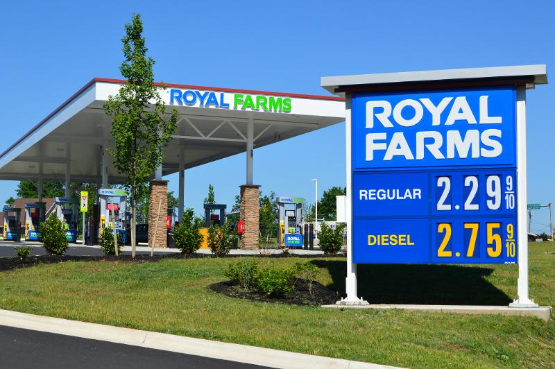 Royal Farms montgomery county planning commission virginia