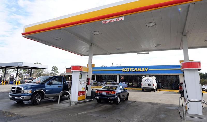 Scotchman gas station