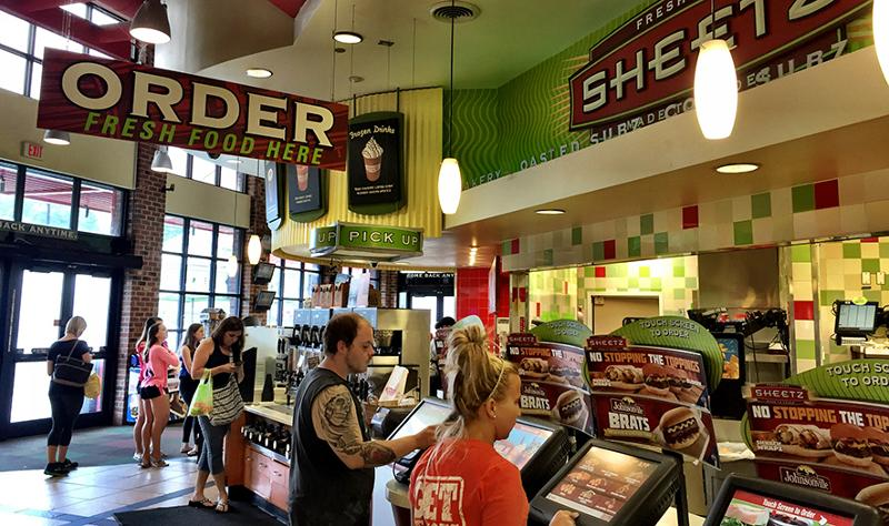 Sheetz foodservice