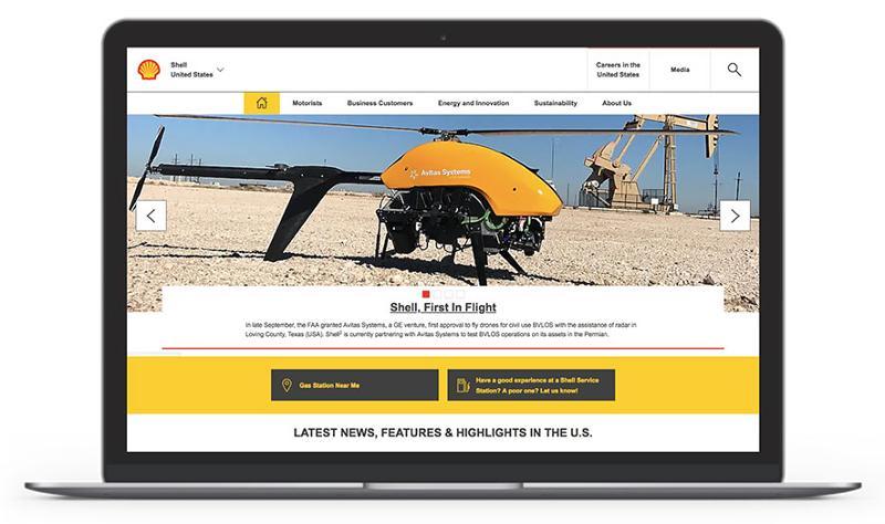 shell website