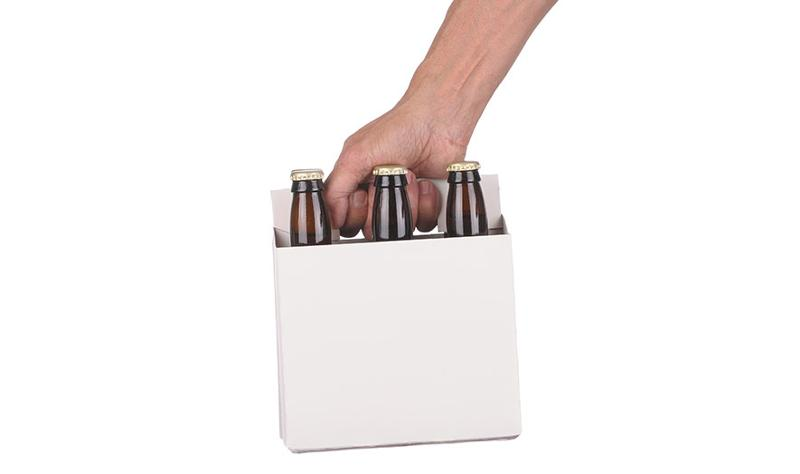 six pack beer